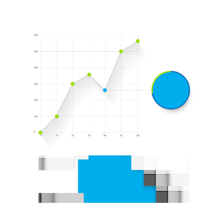 dashboard: infographic dashboard template with graphs and charts