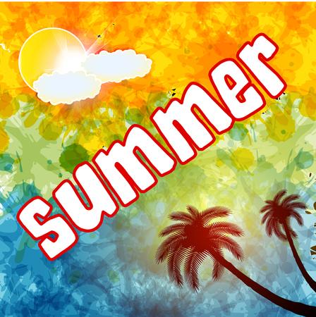 Summer time, text, summer day,summer wallpaper,summer background,summer art,summer image,summer design,summer travel,summer poster