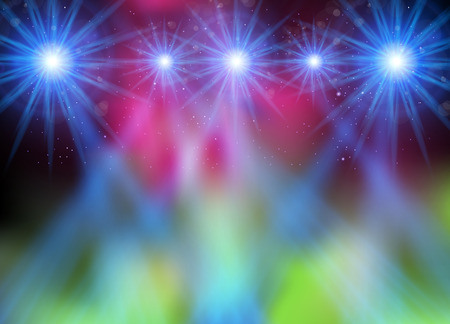 Party light background easy all editable Illustration