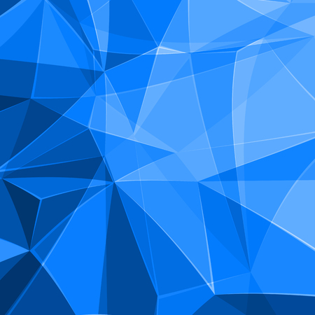 abstract polygon background, easy editable Illustration