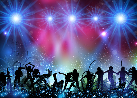 Party Hintergrund einfach alle bearbeitbar Standard-Bild - 82308339
