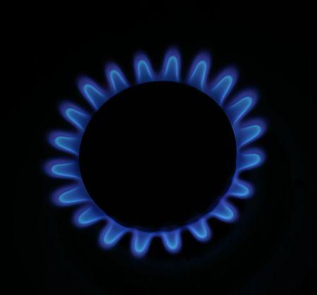 Gas stove Archivio Fotografico