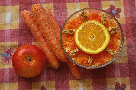 Insalata di carote Archivio Fotografico - 6285181