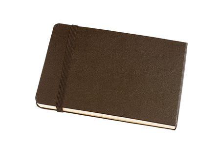 Notebook nero classico Archivio Fotografico - 6389692