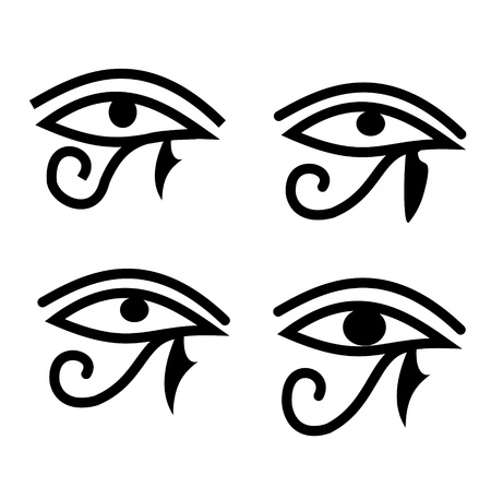 Eye of Horus - Egyptian symbol Vector
