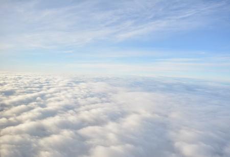 above the clouds Фото со стока