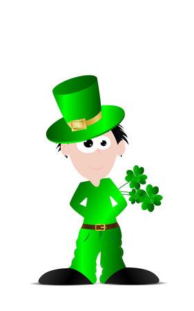 patrick: St. Patrick day Illustration