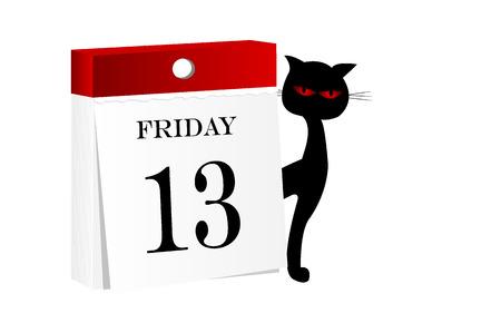 13th: Friday 13th calendar