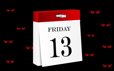 13th: Friday 13th calendar