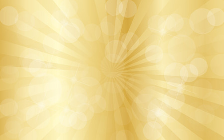 gold abstract: Gold abstract background with rays Stock Photo