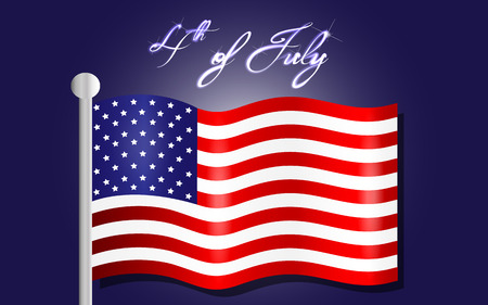 rejoicing: Happy Independence Day background, 4th of July