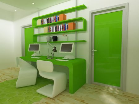 A modern childrens desk