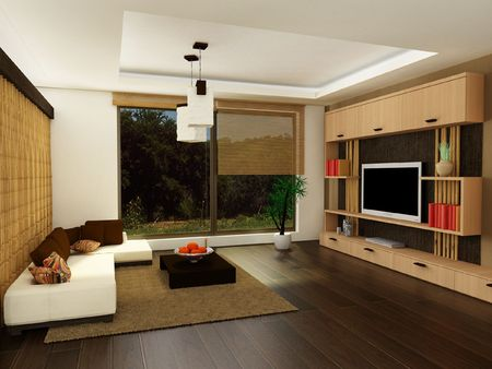 Design of a modern living-room photo