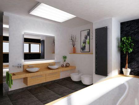 a modern bathroom Stock Photo - 5959721