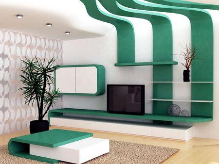 Modern living-room Stock Photo - 6483600