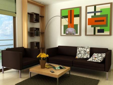 Modern living-room Stock Photo - 7718312