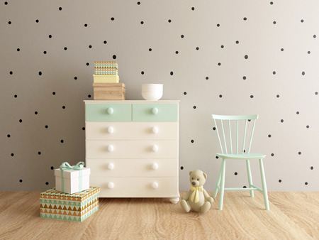 playroom: playroom interior Stock Photo