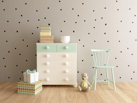 playroom interior Standard-Bild