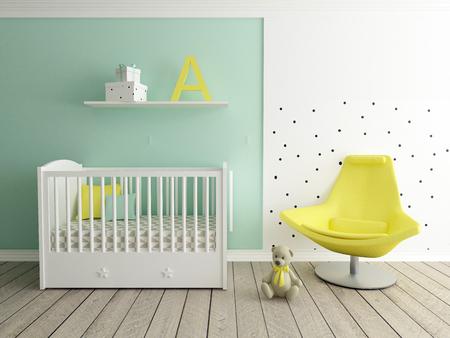 in room: baby room, children room