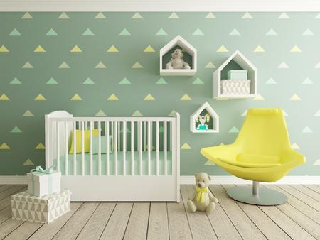 nursery interior for boys