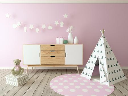 playroom: children playroom interior