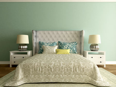 elegant bedroom interior