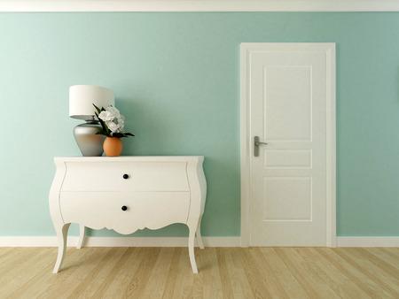elegant hallway interior