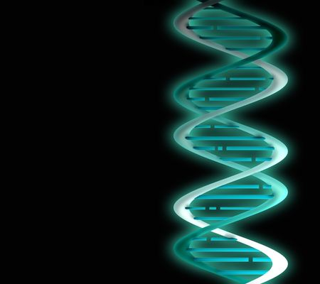 molecule DNA taken on February 18 2009 photo