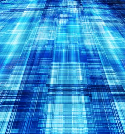 Modern abstract technology background - computer generated Stock Photo - 6419823