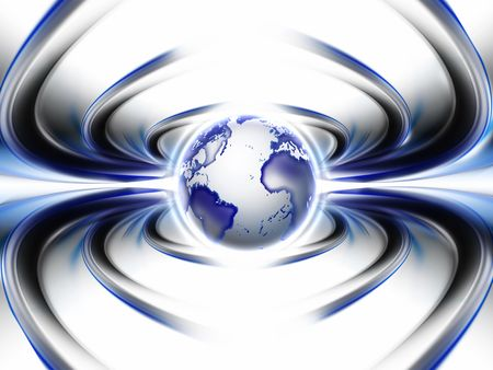 Abstract world wide web spider - fantastic abstract design or art element for your projects photo