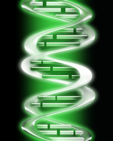 render of DNA - computer generated  for your projects photo