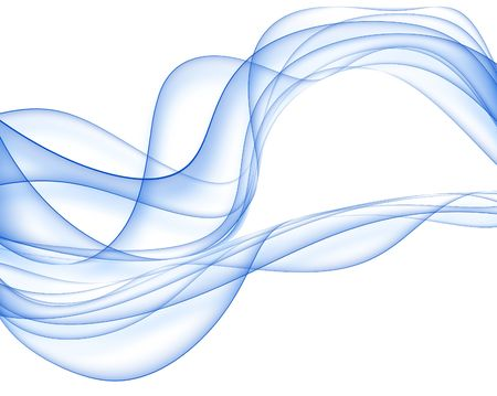 blue elegant abstract background with abstract smooth lines