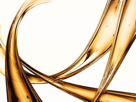 liquid metal: liquid gold background - elegant background Stock Photo