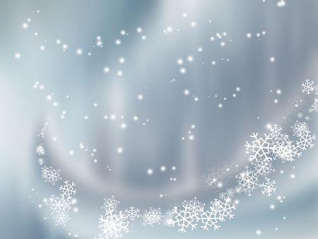 falling snow - elegant background for your art design photo