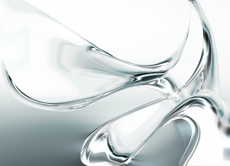 abstract water drops - computer generated  for your projects