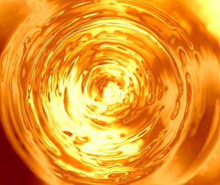 swirl: liquid gold background - elegant background Stock Photo