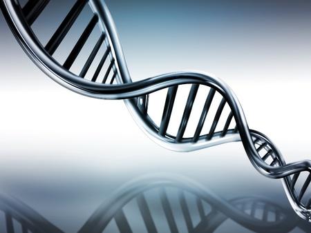 researches: Filamenti di DNA su sfondo medico