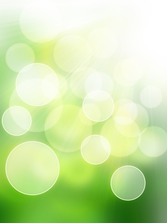 blurry lights: defocus light spring - elegant background for your art design Stock Photo