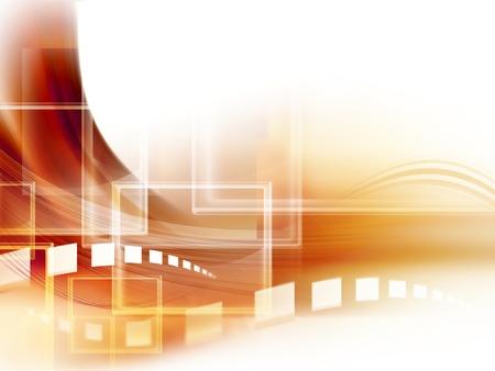 la tecnología de fondo abstracto - generados por computadora para sus proyectos