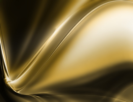 silk: abstract gold background - computer generated  for your projects