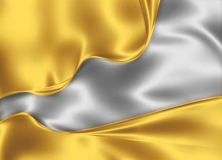 금과은 실크 디자인 - 아름다운 현대 배경 스톡 콘텐츠