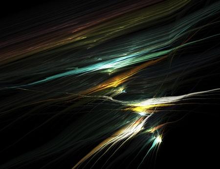 zelektryzować: abstract multi colored glow stripes in the dark Zdjęcie Seryjne