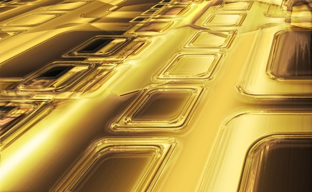 abstract gold background with squares photo