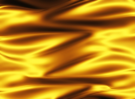 golden silk - elegant abstract background with smooth lines Stock Photo - 10348020