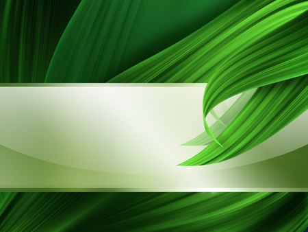 non    urban scene: nature banner on the background of green grass