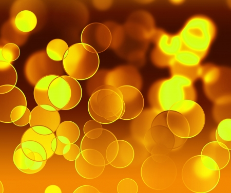 abstract magic background with gold blur light photo