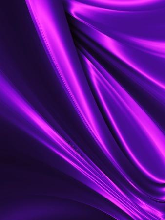 golf van paarse zijde close up - abstracte achtergrond Stockfoto