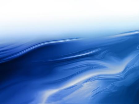 élégant fond de l'eau abstrait avec des lignes douces abstraites Banque d'images