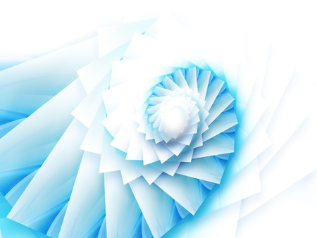 abstract background with spiral squares photo