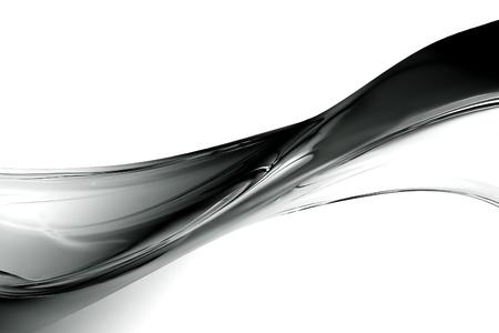 zwarte en witte golf prachtig decor